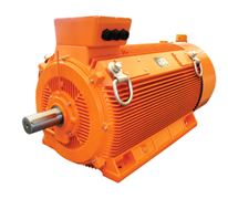 Low voltage large power series motor
